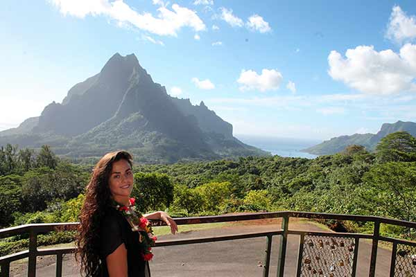 Testimonio del viaje de novios a Polinesia de Davinia y Juan Carlos: Moorea