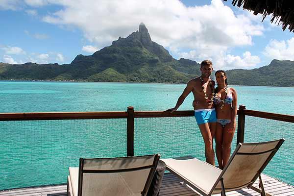 Testimonio del viaje de novios a Polinesia de Davinia y Juan Carlos: overwater bungalow, Le Meridien Bora Bora