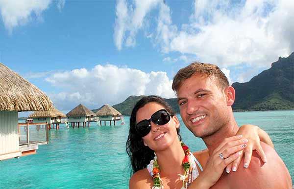 Testimonio del viaje de novios a Polinesia de Davinia y Juan Carlos: dos noches en la overwater bungalow del Le Meridien Bora Bora