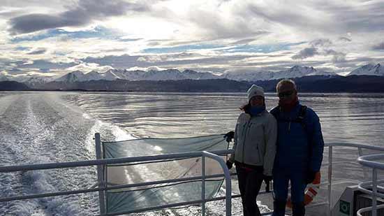 Opinión de viaje a Argentina de Patricia y Juanjo: la navegación en el canal Beagle ha resultado una gran experiencia