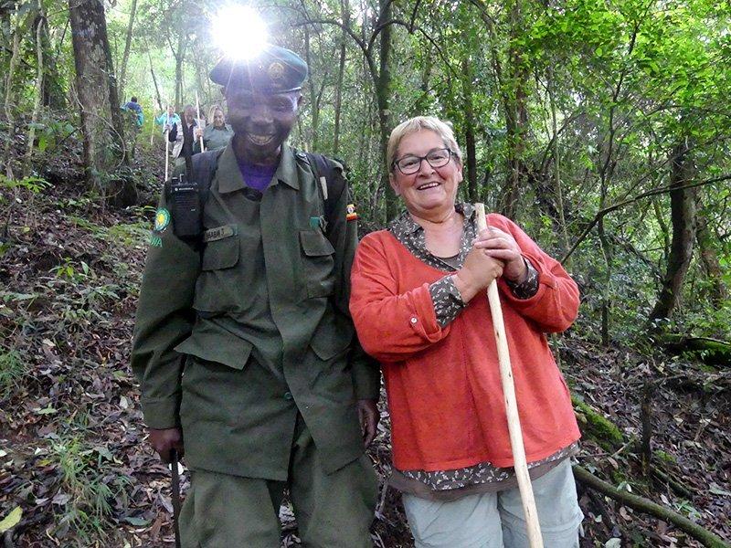Safari a Uganda de Amparo 10