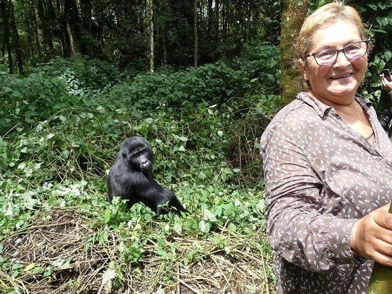 Safari a Uganda de Amparo 17