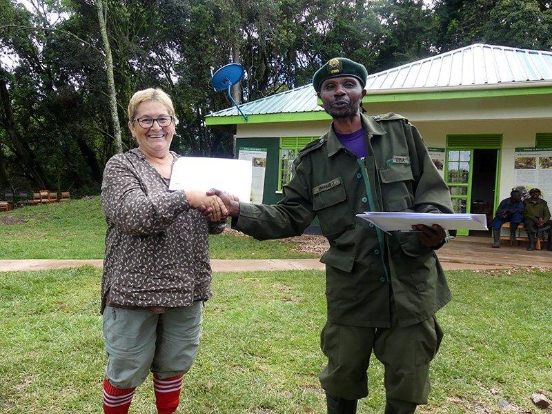 Safari a Uganda de Amparo 18