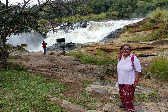 Opinión de Safari a Uganda de Amparo: las cataratas Murchison