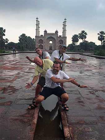 Experiencia del viaje a India del Norte de Jacinta y amigos: Taj Mahal