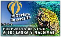 propuesta de viaje a Sri Lanka y Maldivas
