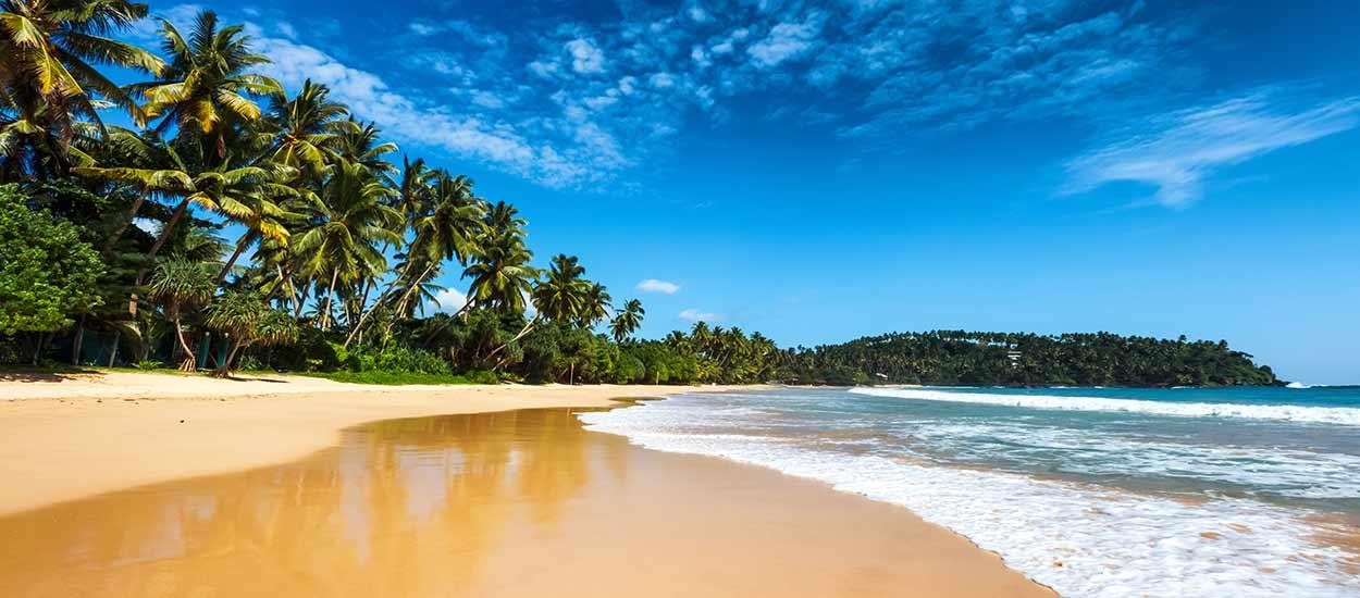 Turismo en Sri Lanka: playas de arena fina y dorada bañadas por el Índico
