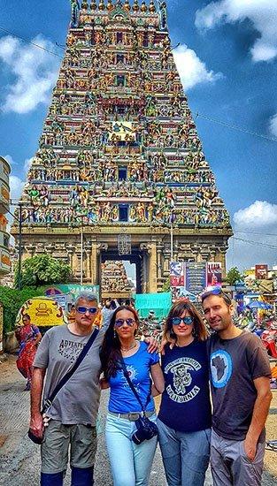 Viaje a India del sur de Carmen, Elena, Josep y Carlos 2