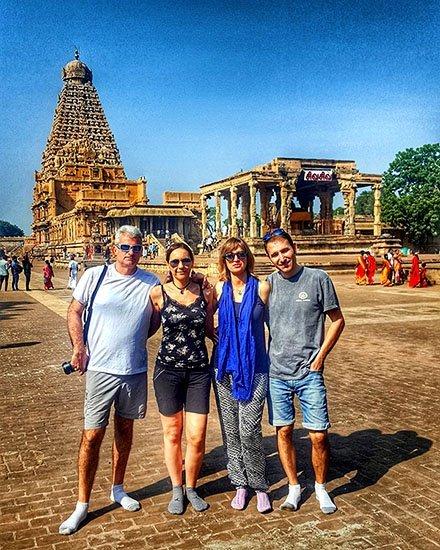 Viaje a India del sur de Carmen, Elena, Josep y Carlos 5