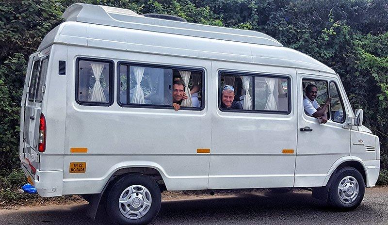 Viaje a India del sur de Carmen, Elena, Josep y Carlos 7