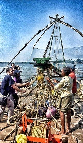 Viaje a India del sur de Carmen, Elena, Josep y Carlos 11