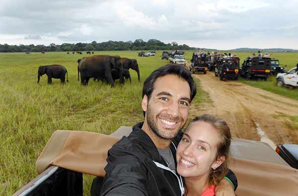 Testimonio de Viaje de novios a Sri Lanka y Maldivas de Andrea y Enrique: Minneriya National Park