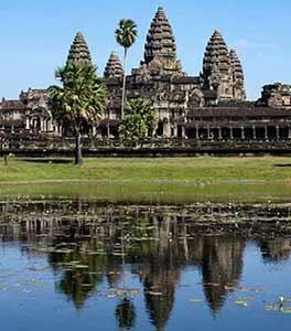 Angkor Wat en Camboya, extensión al turismo en Vietnam