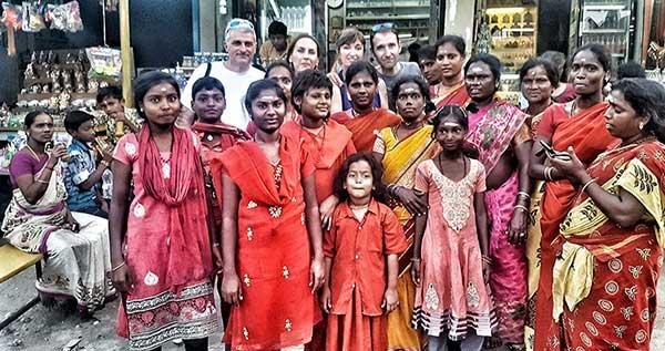 Opinión de viaje a India del sur de Carmen, Elena, Josep y Carlos: mucho color y gente amable y abierta