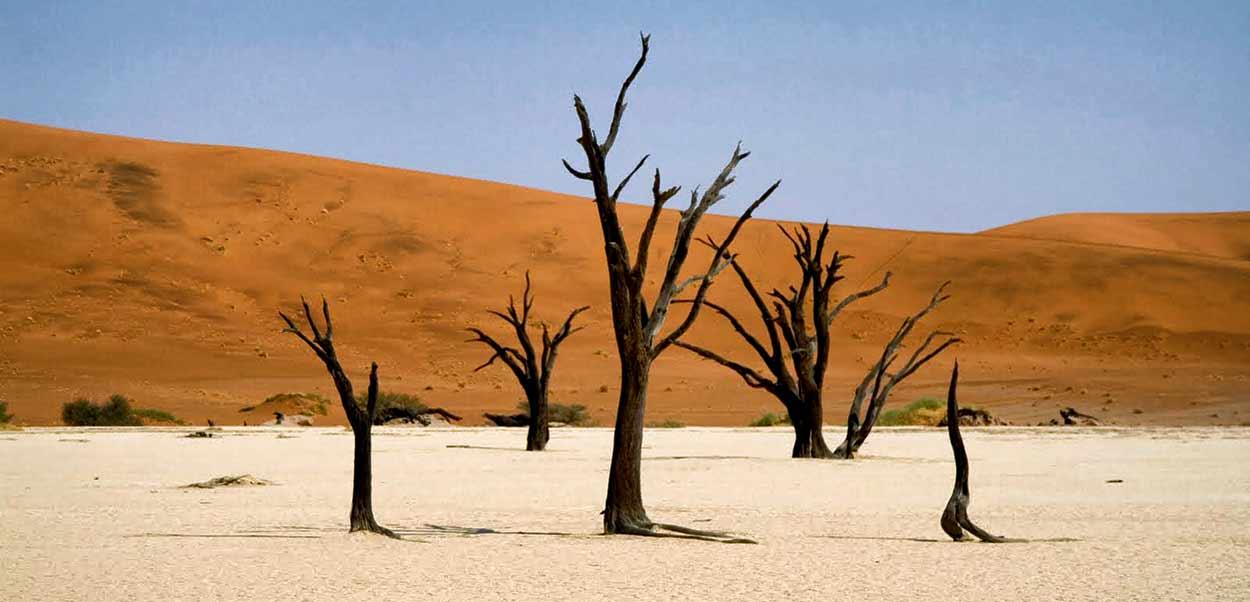 El mar de dunas de Sossusvlei es el atractivo más visitado del turismo de Namibia