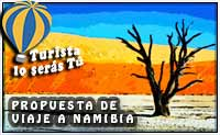 propuesta de viaje a Namibia