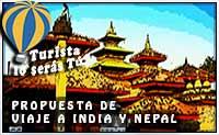 propuesta de viaje a Nepal e India