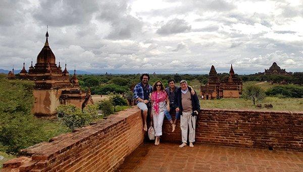 Opinión de viaje a Myanmar de Mario y familia: Bagan, uno de los paisajes culturales más espectaculares de Asia