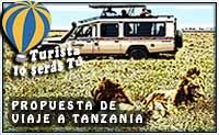 propuesta de viaje a Tanzania