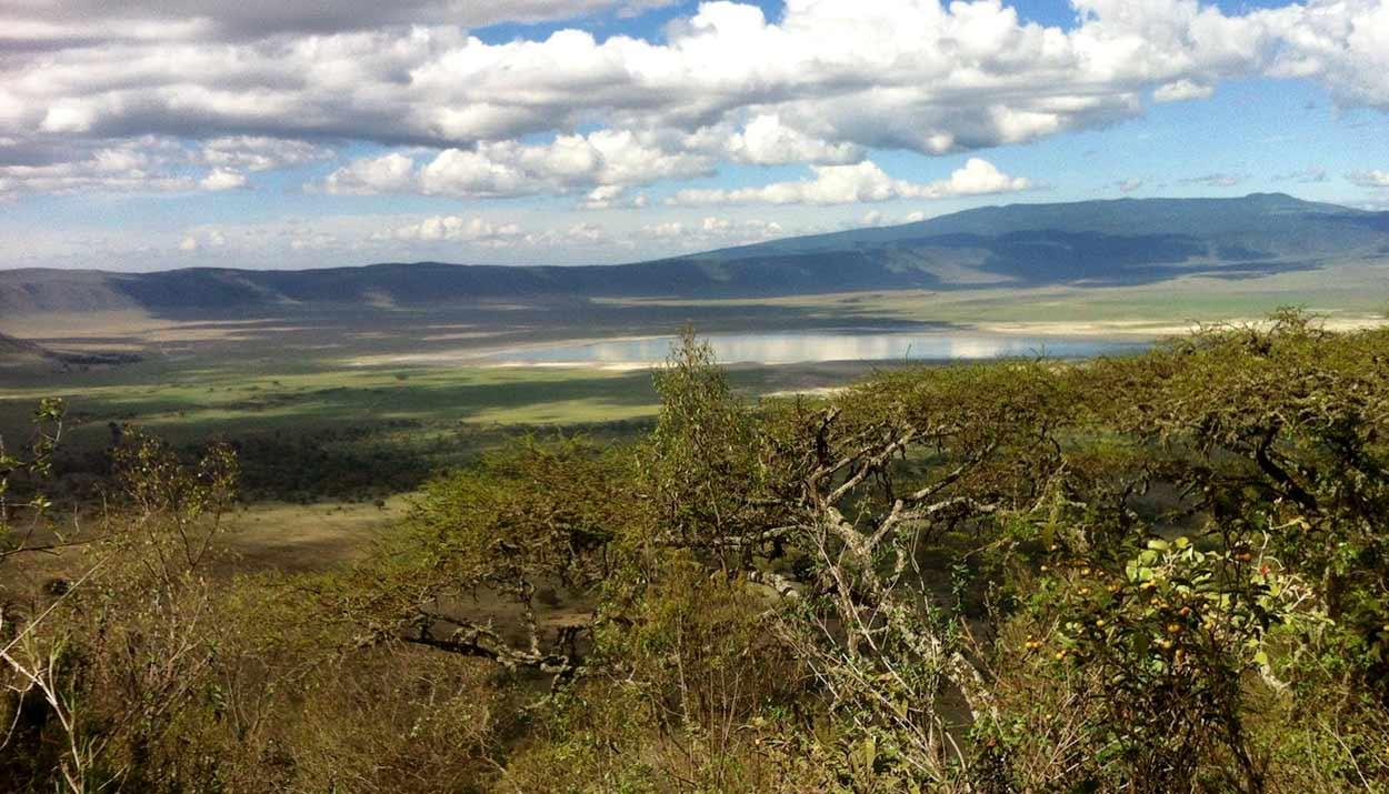 Área de conservación del Ngorongoro, uno de los principales atractivos de Turismo en Tanzania