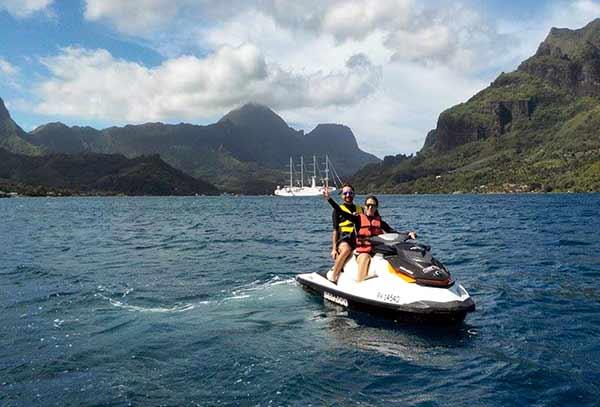 Testimonio de viaje de novios a Polinesia de Roger y Sara: en Moorea