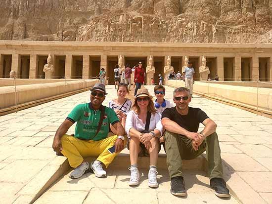 Testimonio del viaje a Egipto de Anna y familia: en el Valle de los Reyes
