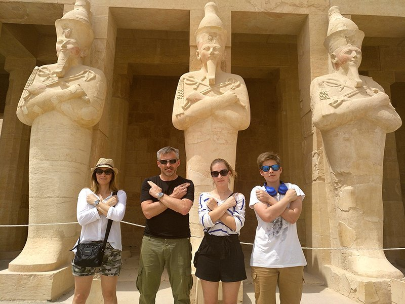 Viaje a Egipto de Anna y familia 6
