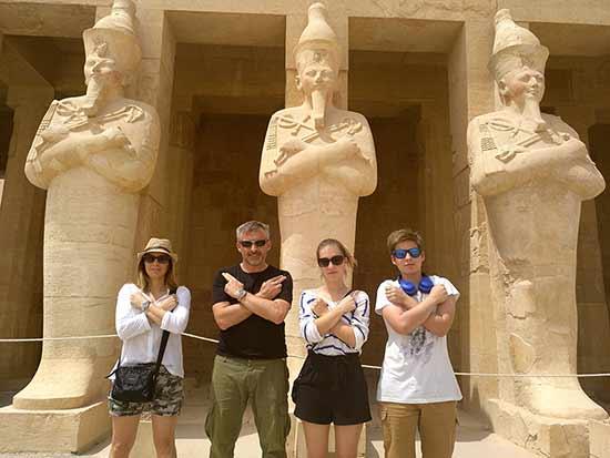 Testimonio del viaje a Egipto de Anna y familia: la experiencia tan formidable que vivimos los cuatro en Egipto.