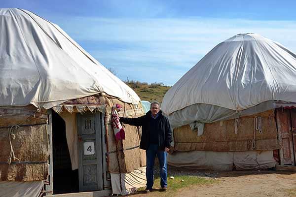 Opinión del viaje a Uzbekistán de Jose, Almudena, Trinidad y Monserrate: en un campamento de yurtas