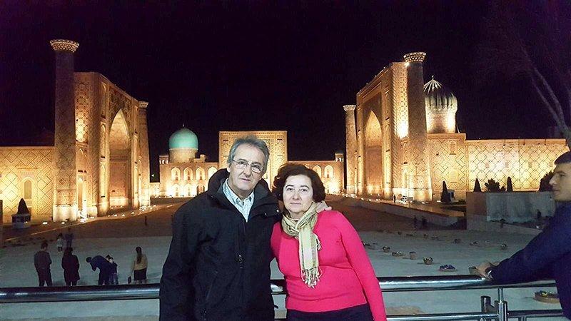Viaje a Uzbekistán de Jose, Almudena, Trinidad y Monserrate 01