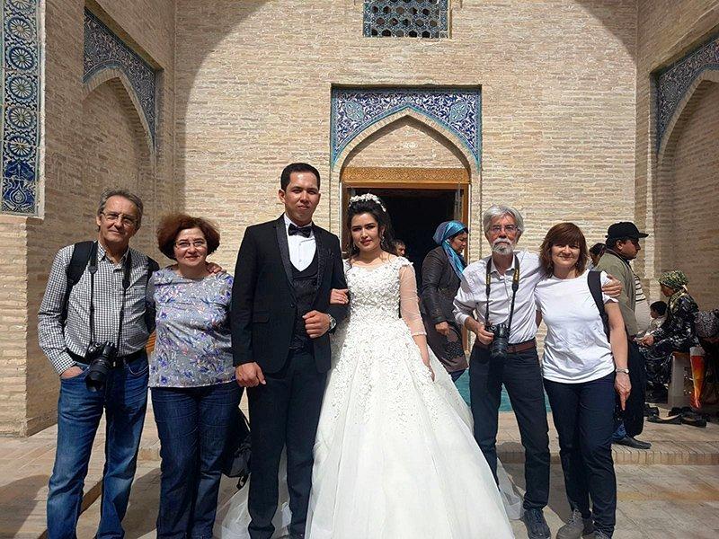 Viaje a Uzbekistán de Jose, Almudena, Trinidad y Monserrate 10