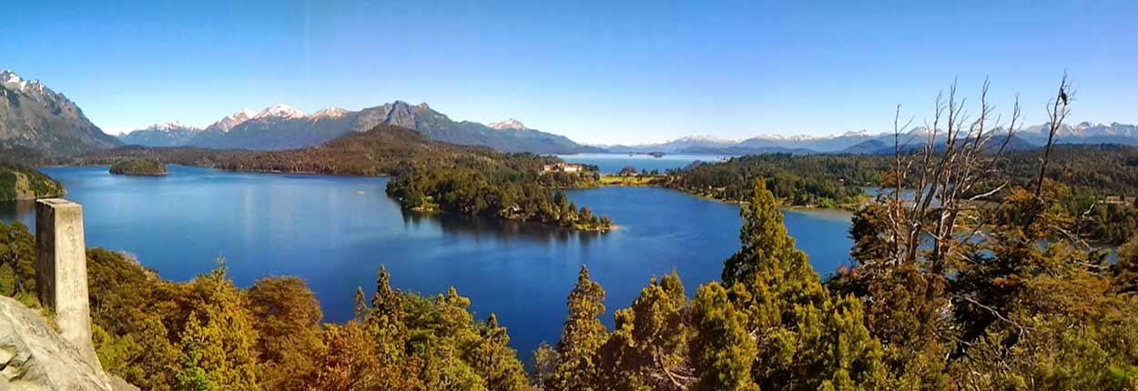 El tópico sobre Bariloche habla de una Suiza de postal en medio de los Andes, uno de los escenarios más apabullantes de turismo de Argentina