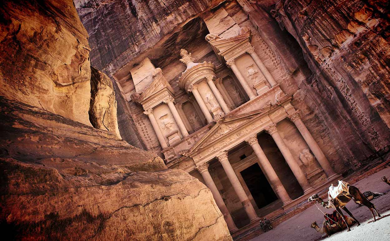 Petra es la joya más preciada de turismo de Jordania