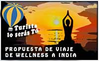 propuesta de viaje de wellness a India