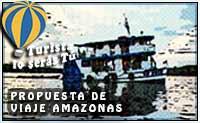 propuesta de crucero del Amazonas