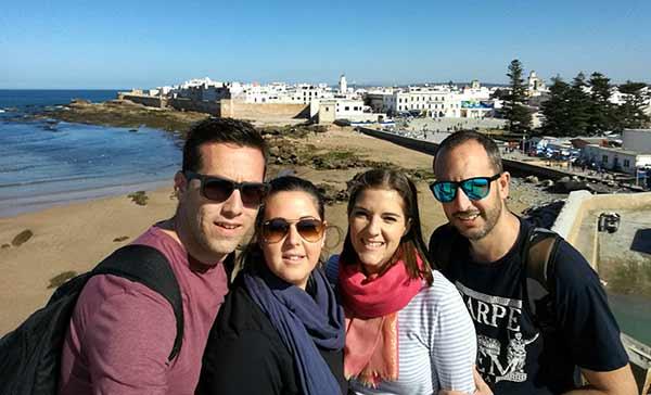 Testimonio de viaje a Marruecos de Diego, Elena, Mari y José Carlos: en Esauira