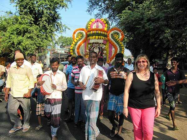 Testimonio de viaje a India del Sur de Mari Carmen y José María: La India del Sur es una zona donde hay poco turismo y esto te permite relacionarte con la gente de una manera más cercana