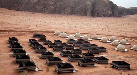 Sun City Camp, en Wadi Rum (propiedad de www.suncitycamp.com)