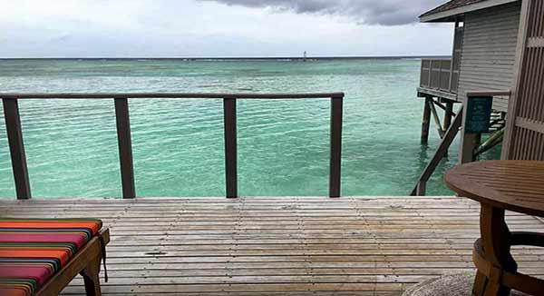 Testimonio de viaje a Sri Lanka y Maldivas de Paola y Alfonso: su Jacuzzi Water Villa en Meeru Island Resort