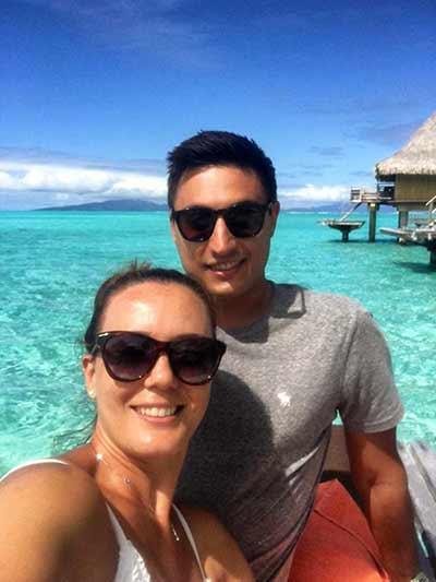 Valoración de viaje a Polinesia de Rocío y Simone - horizon over water bungalow fue, sin duda, lo mejor