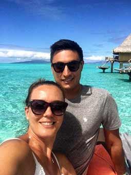 Valoración de viaje a Polinesia de Rocío y Simone slider