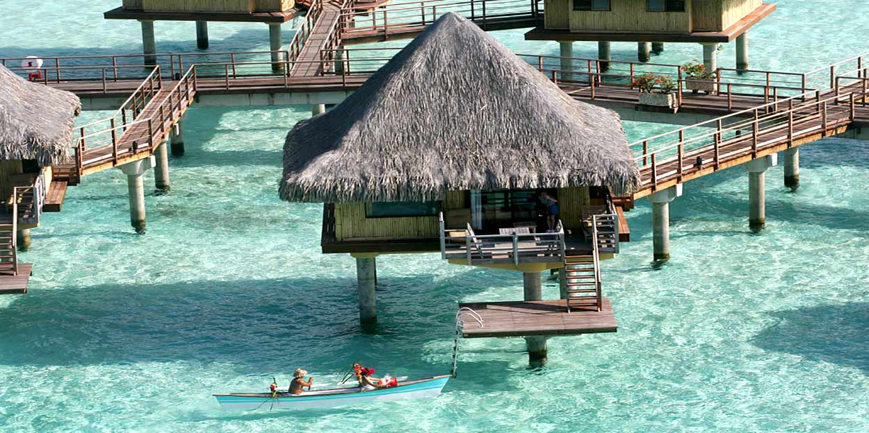 Nueve noches en Polinesia en hoteles 5* Intercontinental - Intercontinental Bora Bora