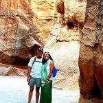 Viaje a Jordania de Patricia y Juanjo: en Petra