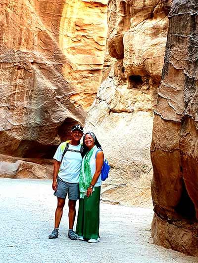 Valoración de viaje a Jordania de Patricia y Juanjo.: en Petra