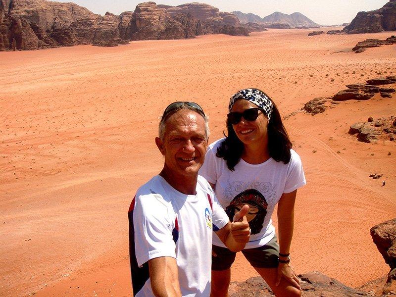 Viaje a Jordania de Patricia y Juanjo: en Wadi Rum
