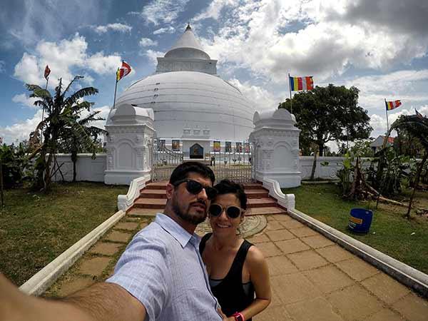 Valoración de viaje a Sri Lanka y Maldivas de María y David: en Anuradhapura