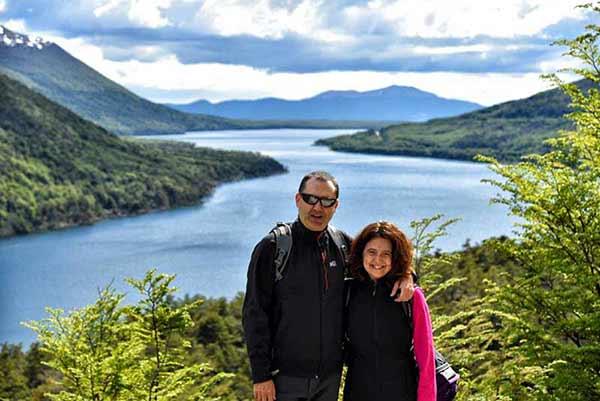 Testimonio de Viaje a Argentina y Chile de Javier y Elena: lago Escondido, Ushuaia