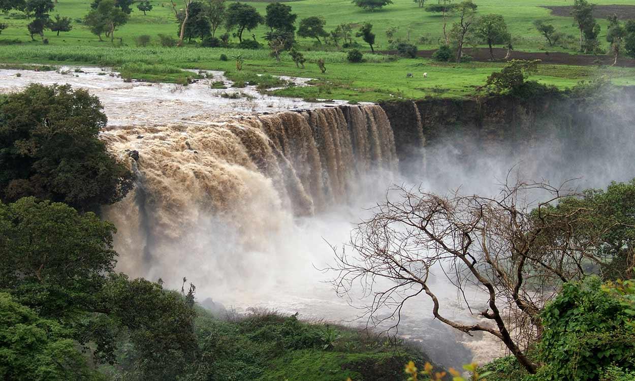 Cataratas del Nilo Azul - ETIOPIA NORTE Y SUR DE SALIDA GARANTIZADA