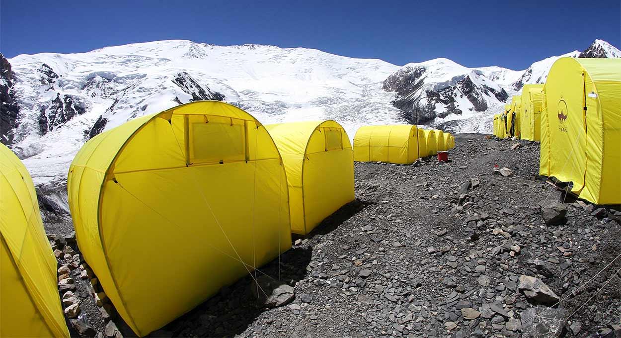 Campo 1 - Turismo activo en Kirguistán