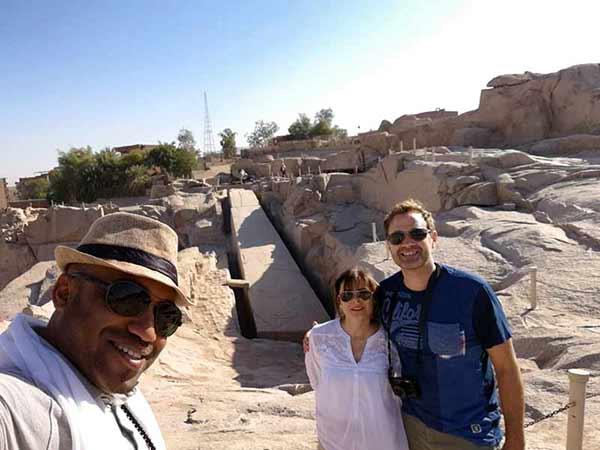 Opinión de viaje a Egipto de Yvanna y Roger: con su guía